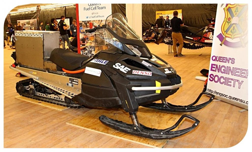 Zero-Emissions Snowmobile during its first competitive year.