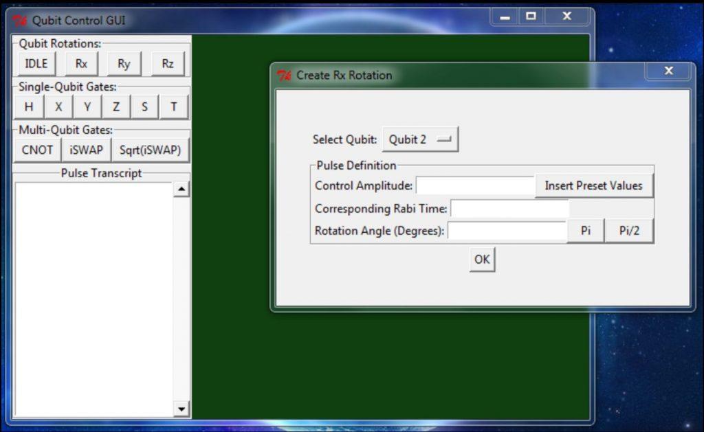 QubitGUI Prototype