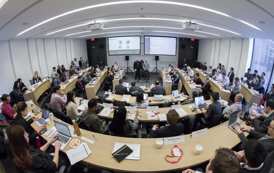 Inside a CDL meeting.